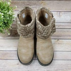 Rocket Dog Light Brown Boot Ankle Belted Shoes